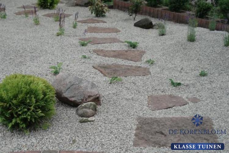 Grind In Tuin : De japanse tuin hoveniersbedrijf de korenbloem